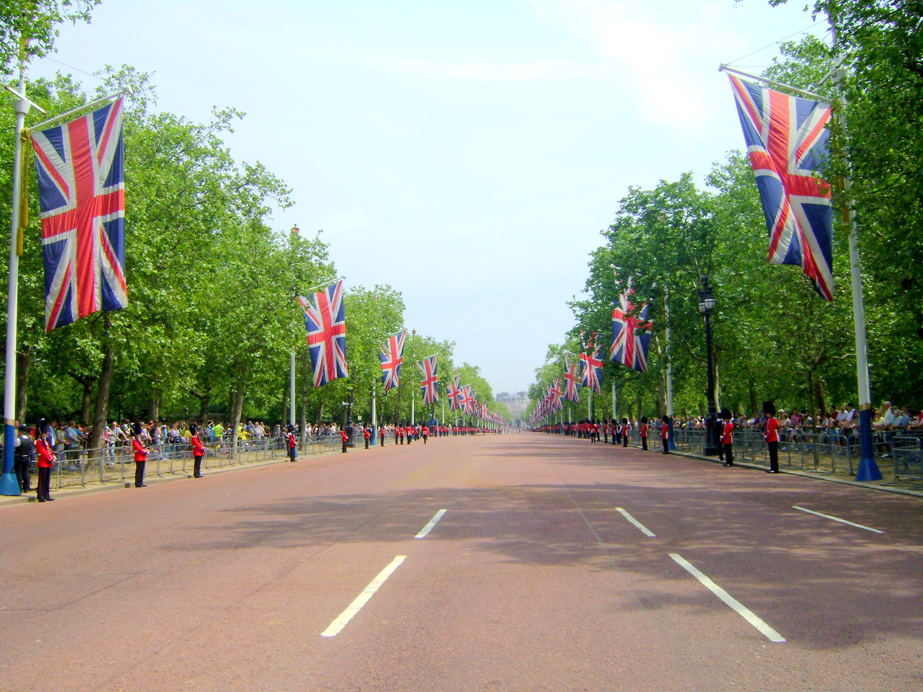 The Buckingham Palace, London, UK