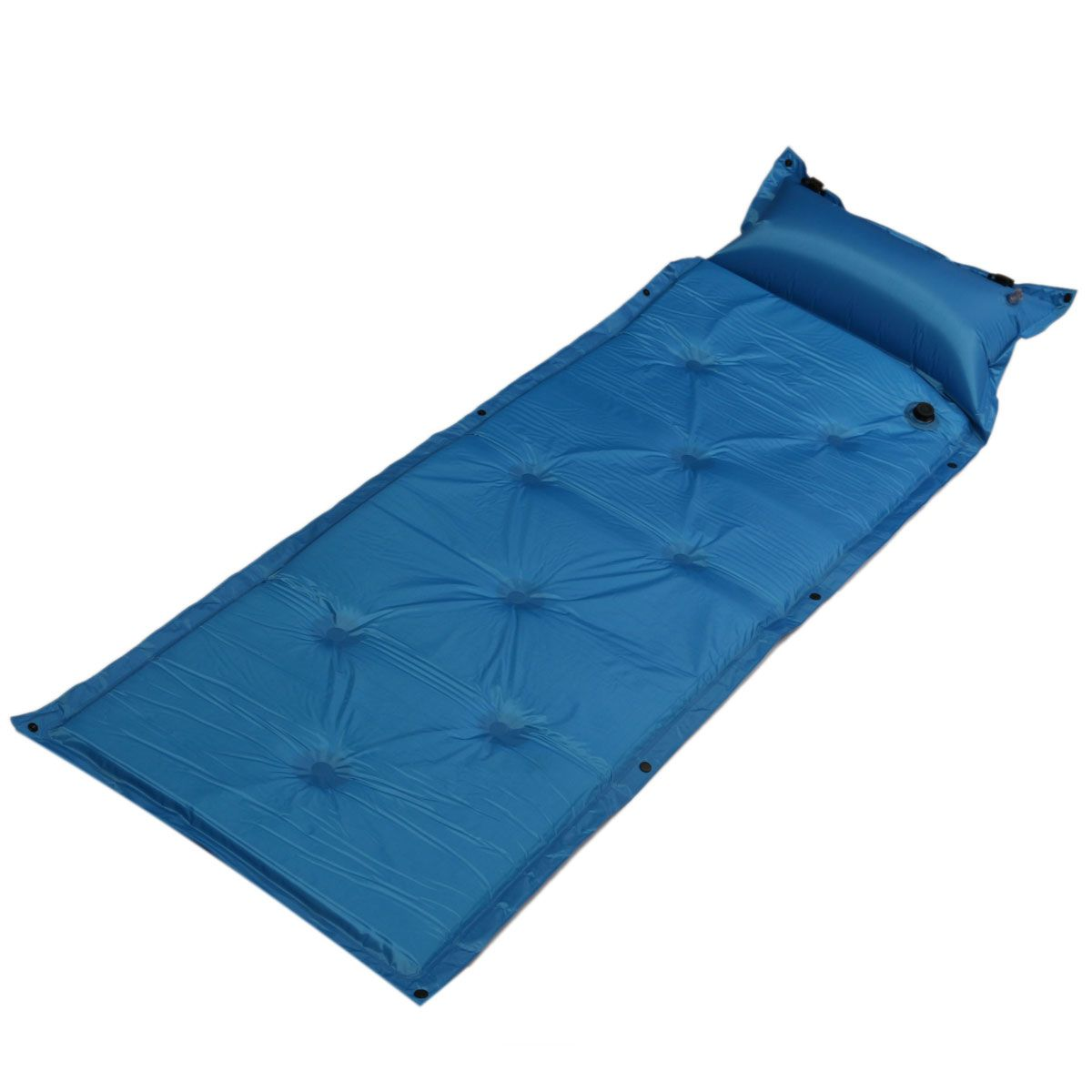 Outdoor Polyester Camping Self Inflating Air Mat Mattress Pad Pillow Waterproof Hiking Sleeping Bed 4 Colors Walmart Com Mattress Pad Sleeping In Bed Inflatable Bed