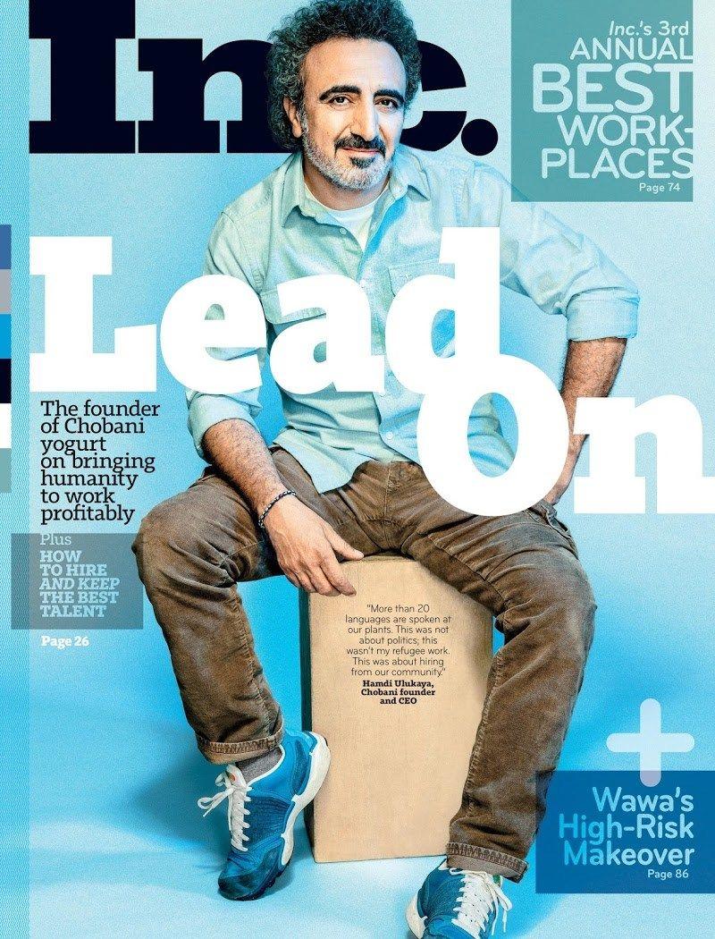 Inc Magazine Cover For 11 1 2018 Magazine Cover Cover Magazine