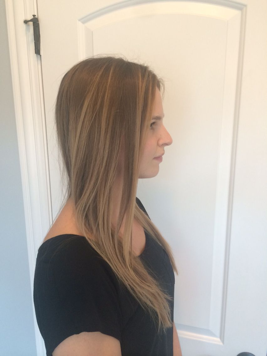 Balayage And Haircut By Me Lindsey Marino Chicago Hairstylist At