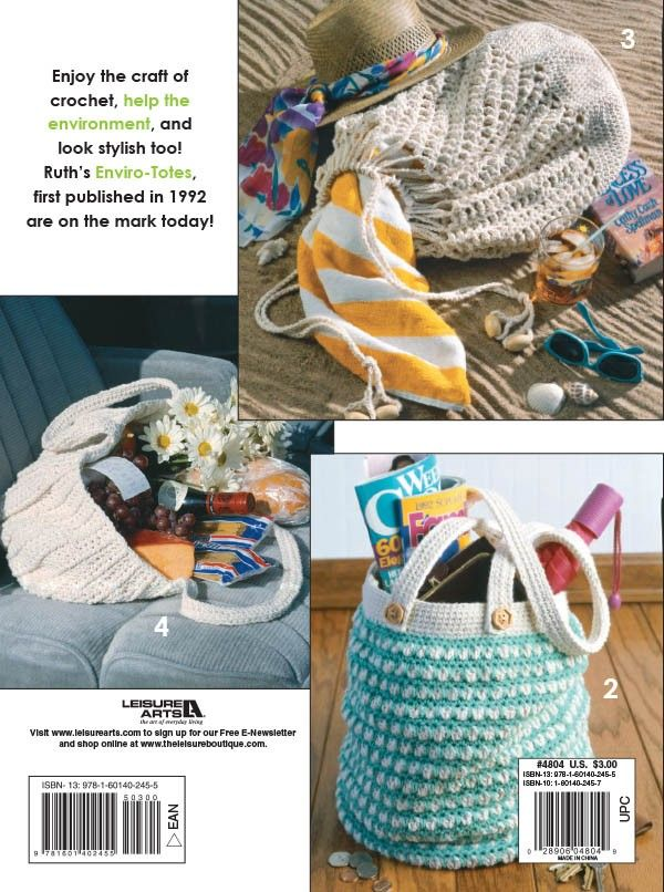 Enviro-Totes - Enjoy the craft of crochet, help the environment, and ...