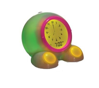 Teach Me Time Talking Bedside Alarm Clock And Night Light