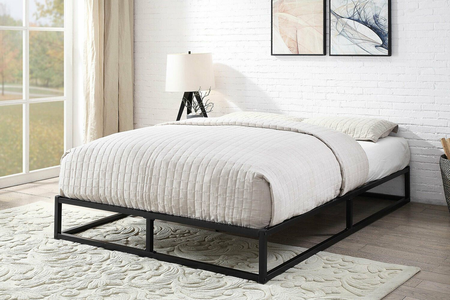 Double Loft Bed Frame in 2020 Loft bed frame, Metal