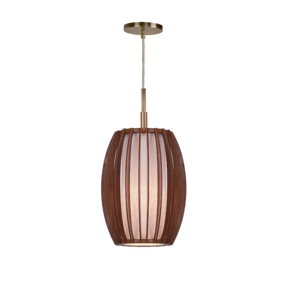 Woodbridge lighting wsfas fins wood light minipendant