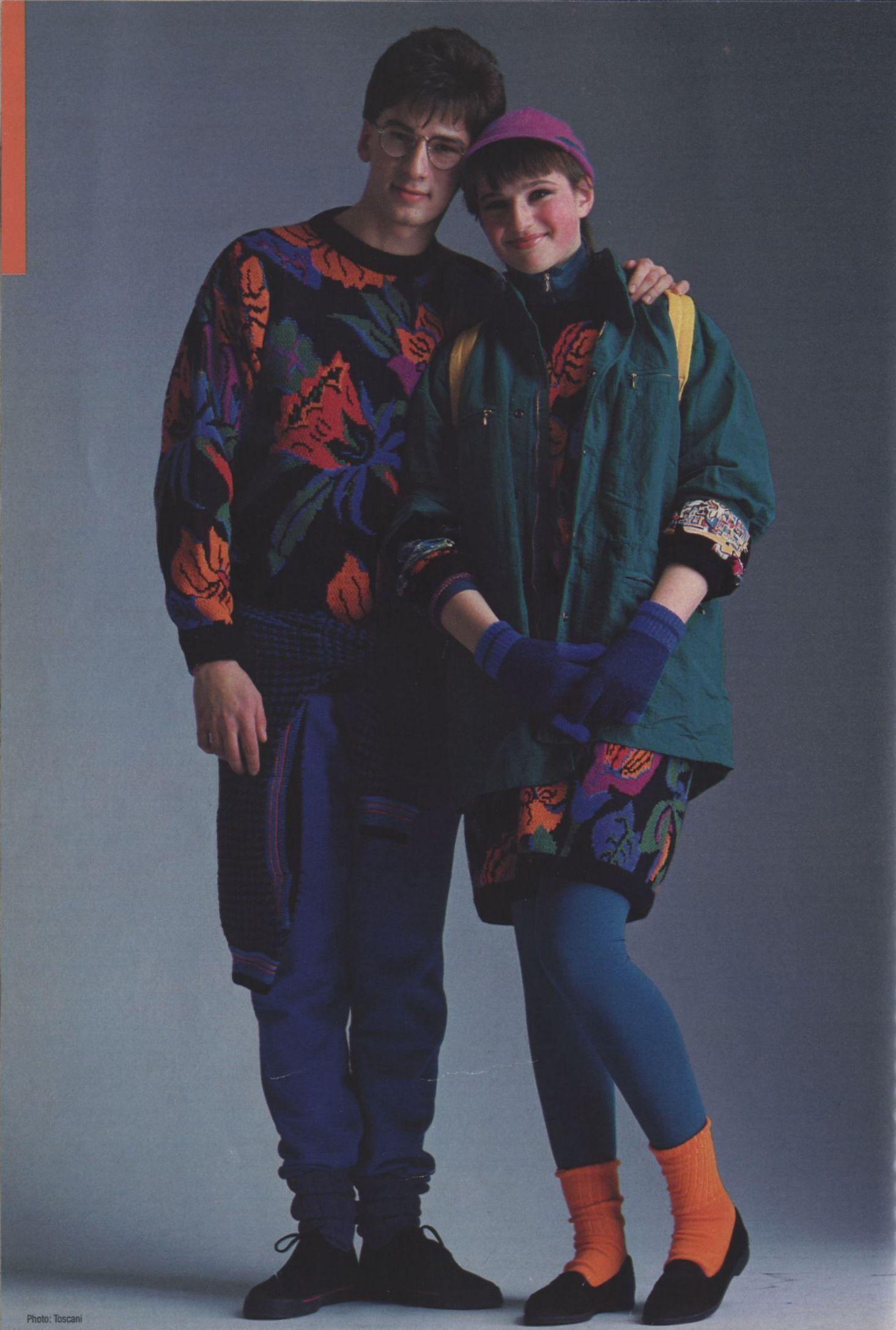 Vintage 80s Fashion Photos: 1980s Ads - Esprit, Benetton & Swatch