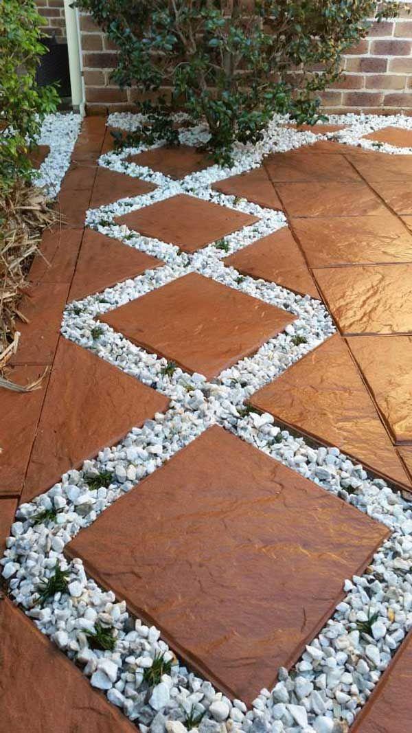 dcorer son jardin avec galets et gravillons