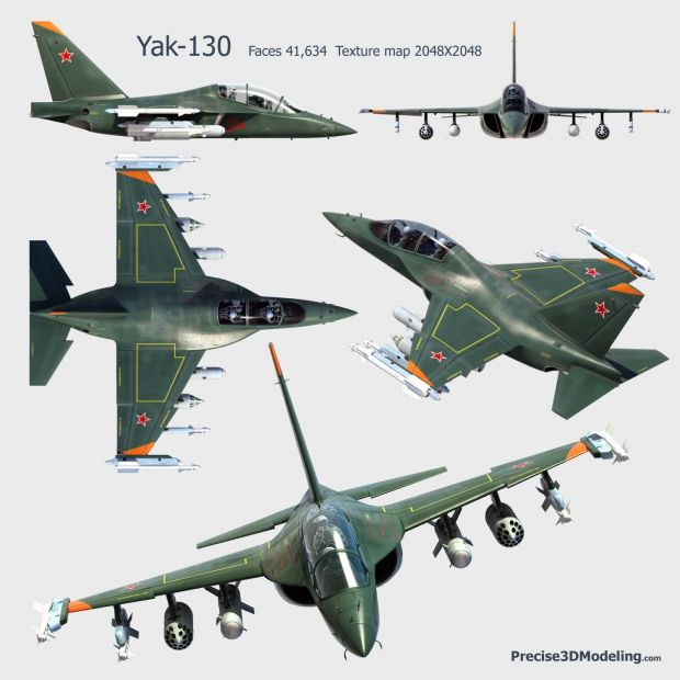 New Electronics To Turn Yak 130 Jet Into Deadly War Hine