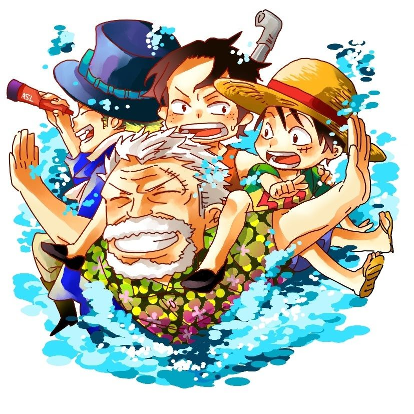 Garb Monkey D Luffy Portgas D Ace And Sabo One Piece