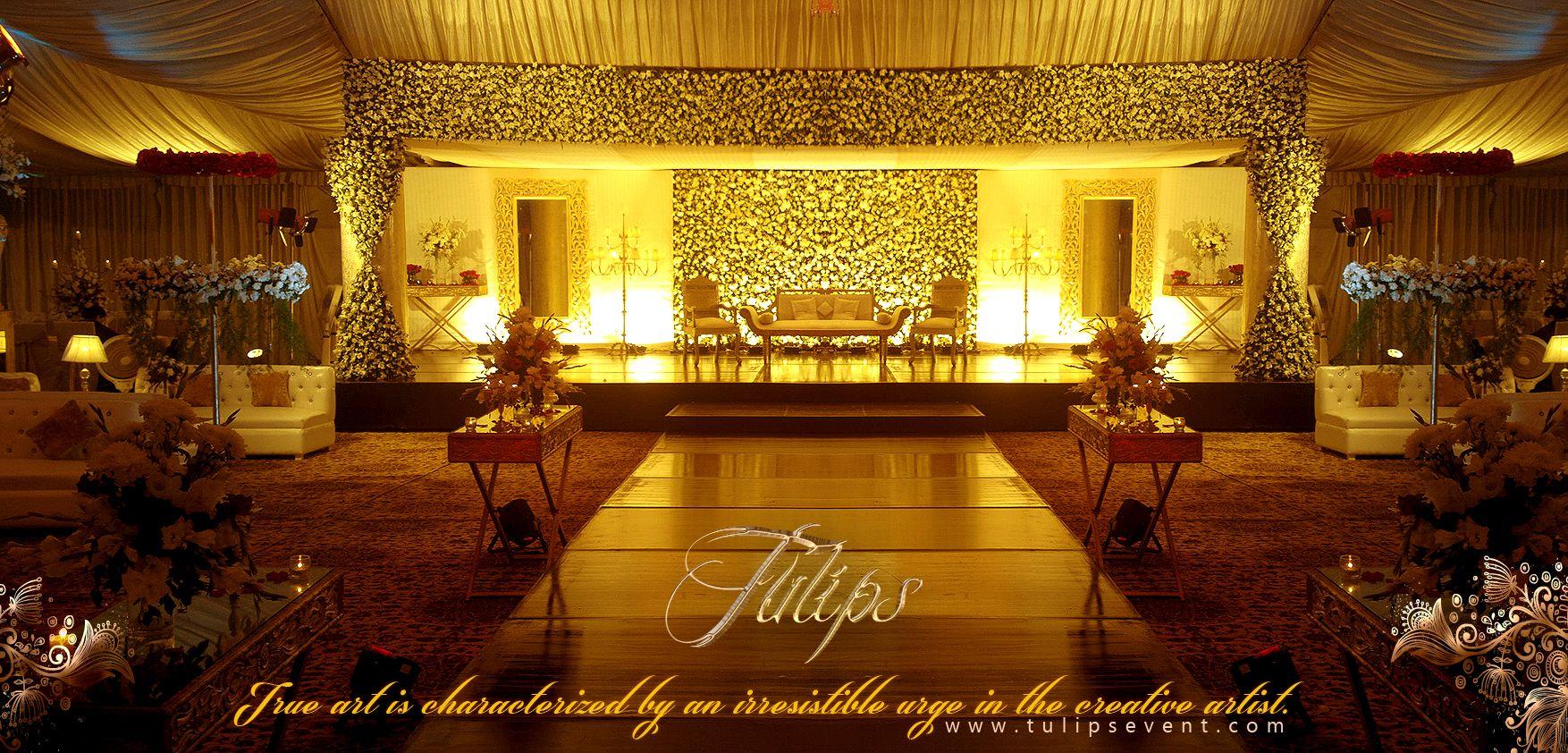 How Plan Best Wedding Reception Stage Decoration Setup
