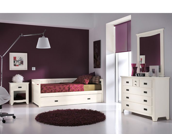 Dormitorio juvenil dormitorios juveniles pinterest - Muebles postigo dos hermanas ...