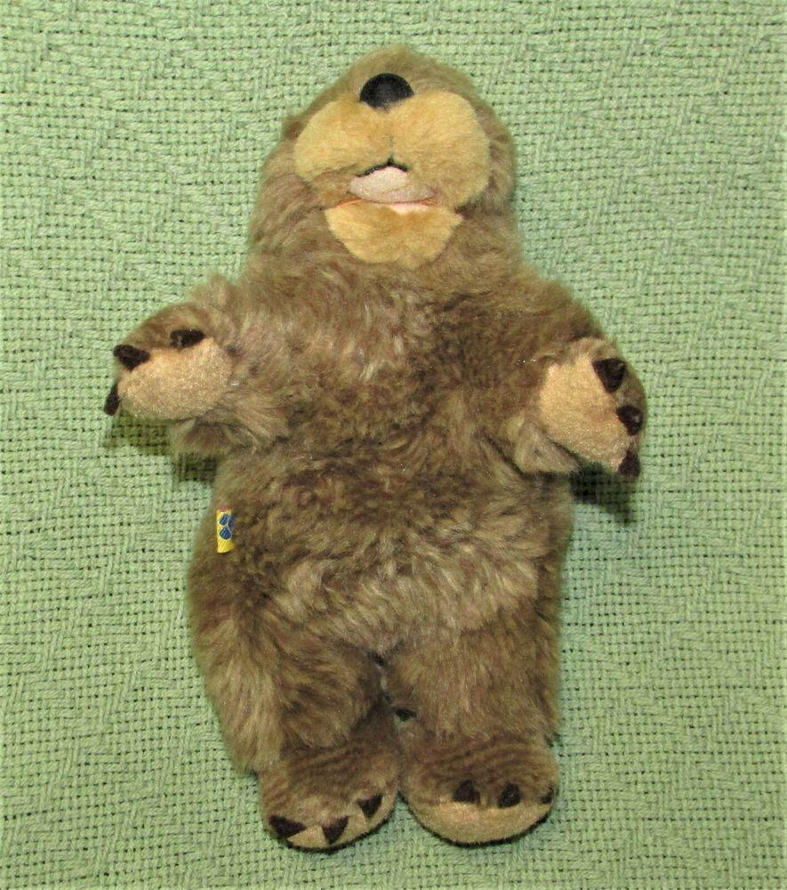 Build A Bear Small Frys Buddies Beaver Badger Otter 8 Stuffed