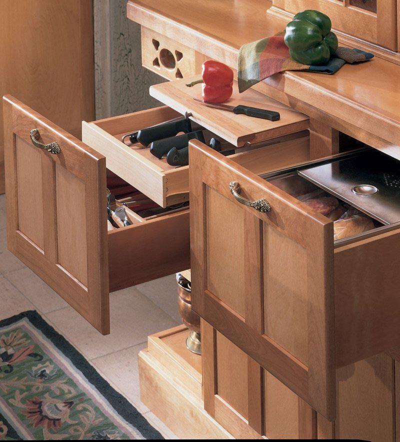 Kraftmaid storage solutions base drawer buffet for Kraftmaid storage solutions