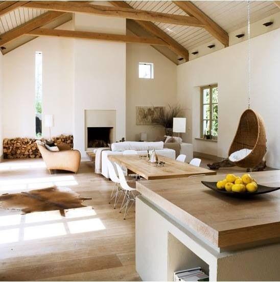 Wohnzimmer, Einrichtung, Wohnen, Holz Kücheninsel, Kochinseln, Rustikal  Modern, Rustikal Modern, Modern Rustikale Innenräume, Ferienhaus  Innenausstattungen