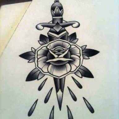 Gagger Tattoo Tatuajes Tradicionales Tatuajes De Flash Dagas Tattoo