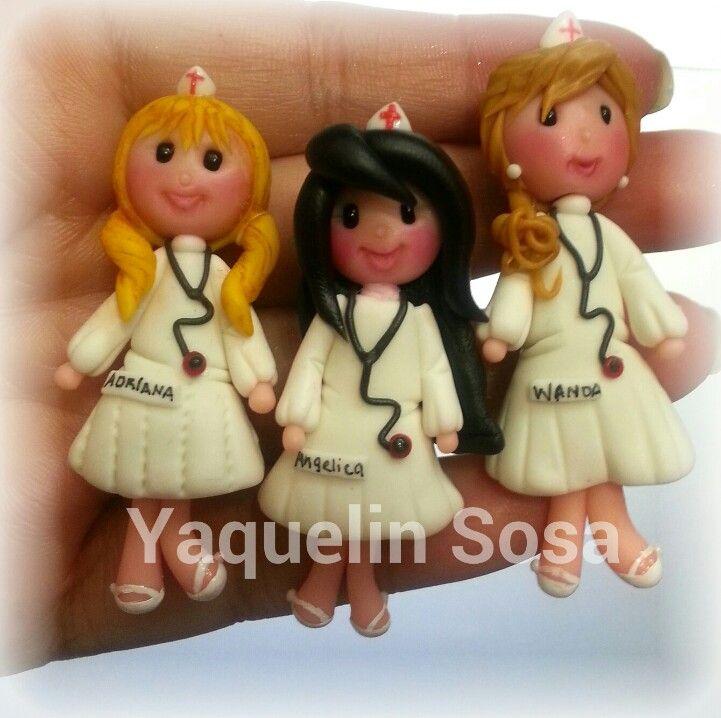 Nurses.(cold porcelain)