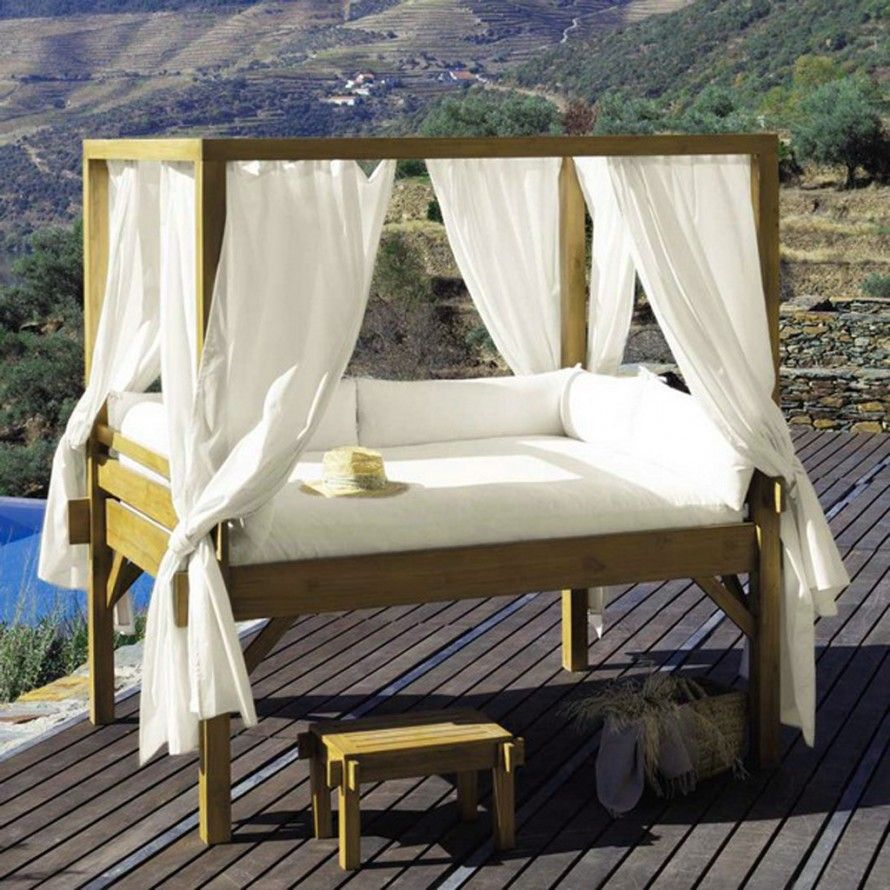 - 30 Romantic Canopy Beds Outdoor Canopy Bed, Outdoor Beds, Canopy