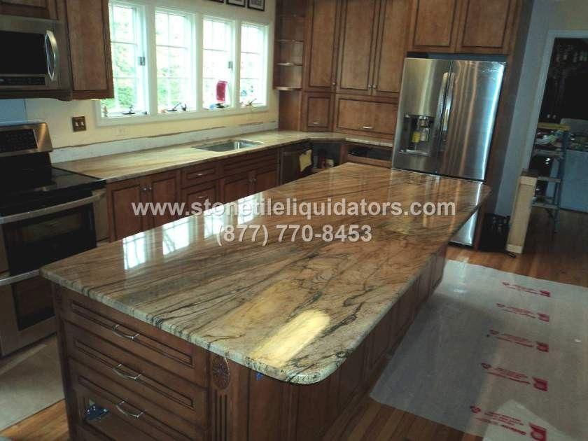Wonderful Prada Gold 3cm Polished Granite Slab 09.244 (840×630) | Golden Cascade  Granite | Pinterest | Granite