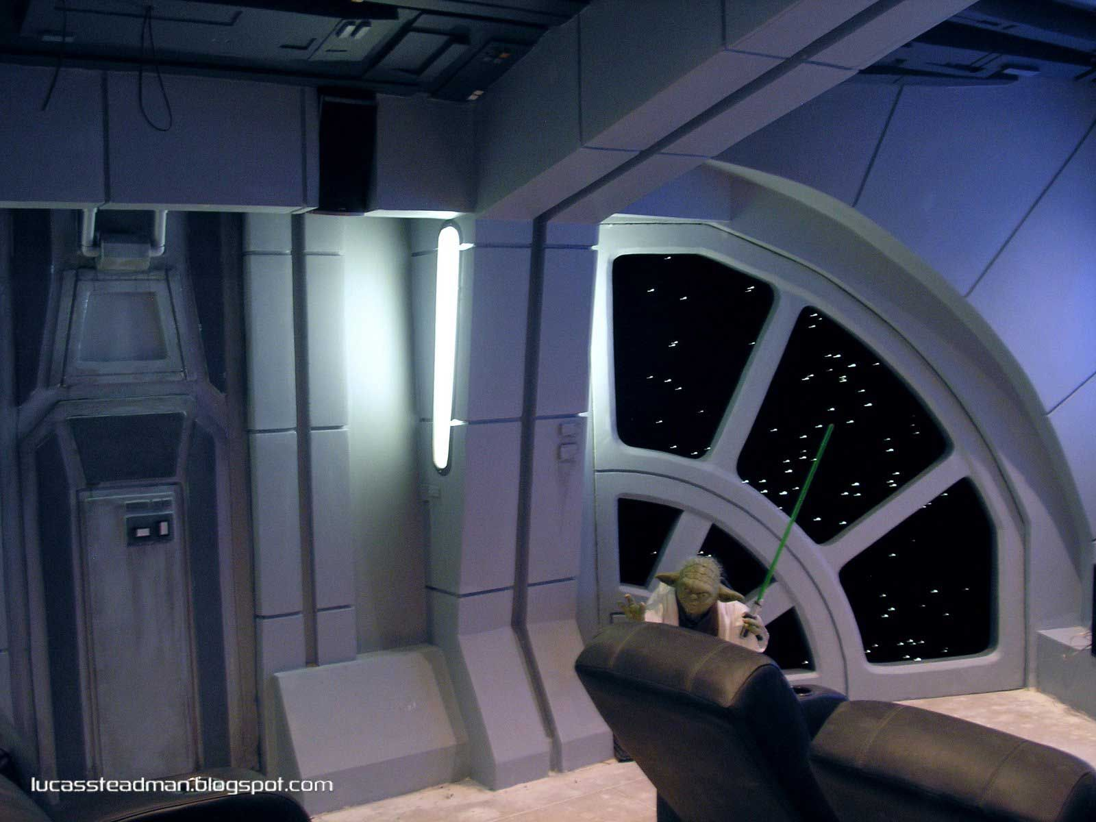 Star Wars Bedrooms My Home Theater Is A Star Destroyer Home Ideas Star
