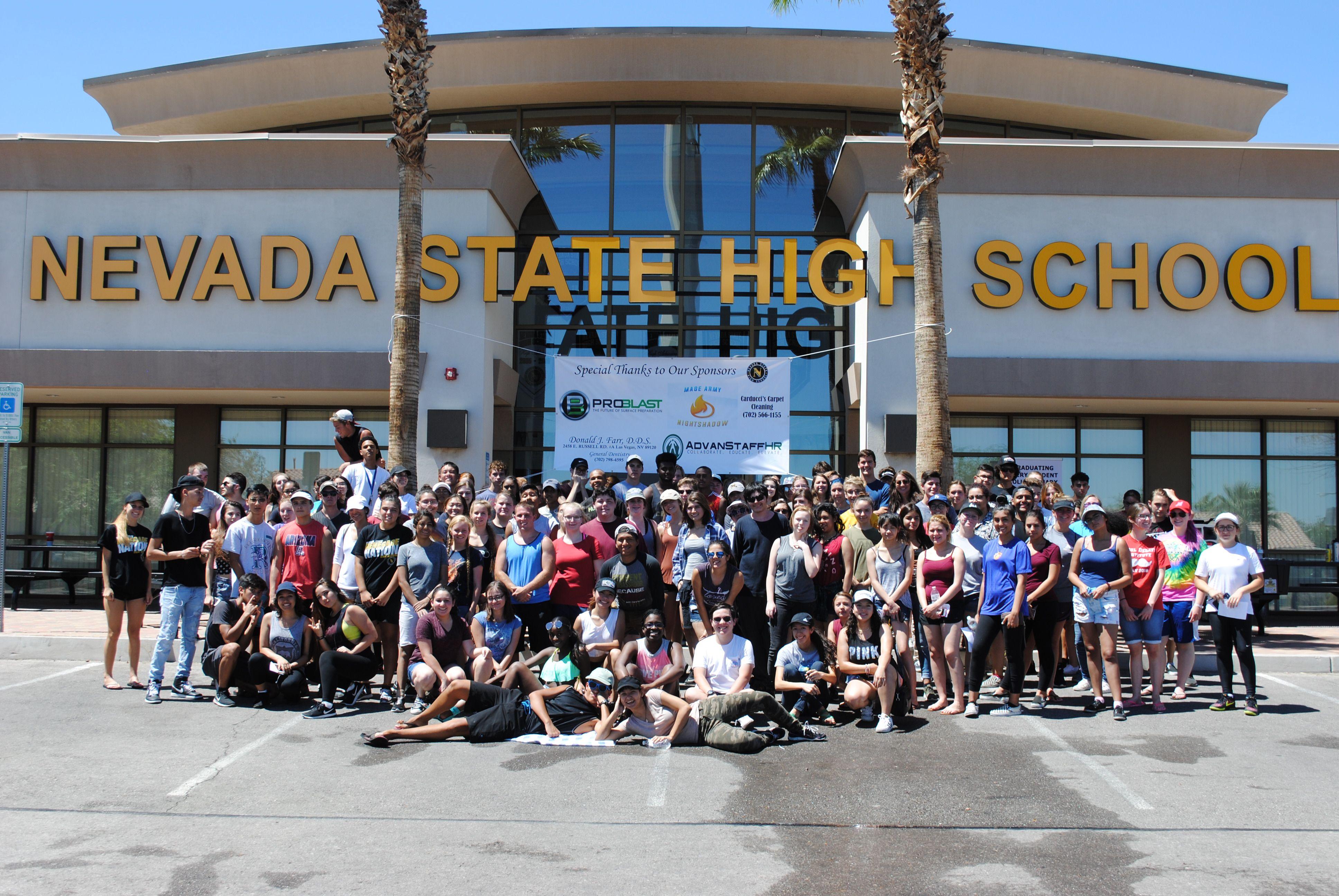 Nevada State High School Car Wash 2017 High school