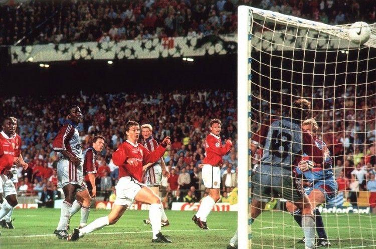 Ole Gunnar Solskjaer Wins Manchester United The Champions League Manchester United Manchester United Legends Manchester United Football