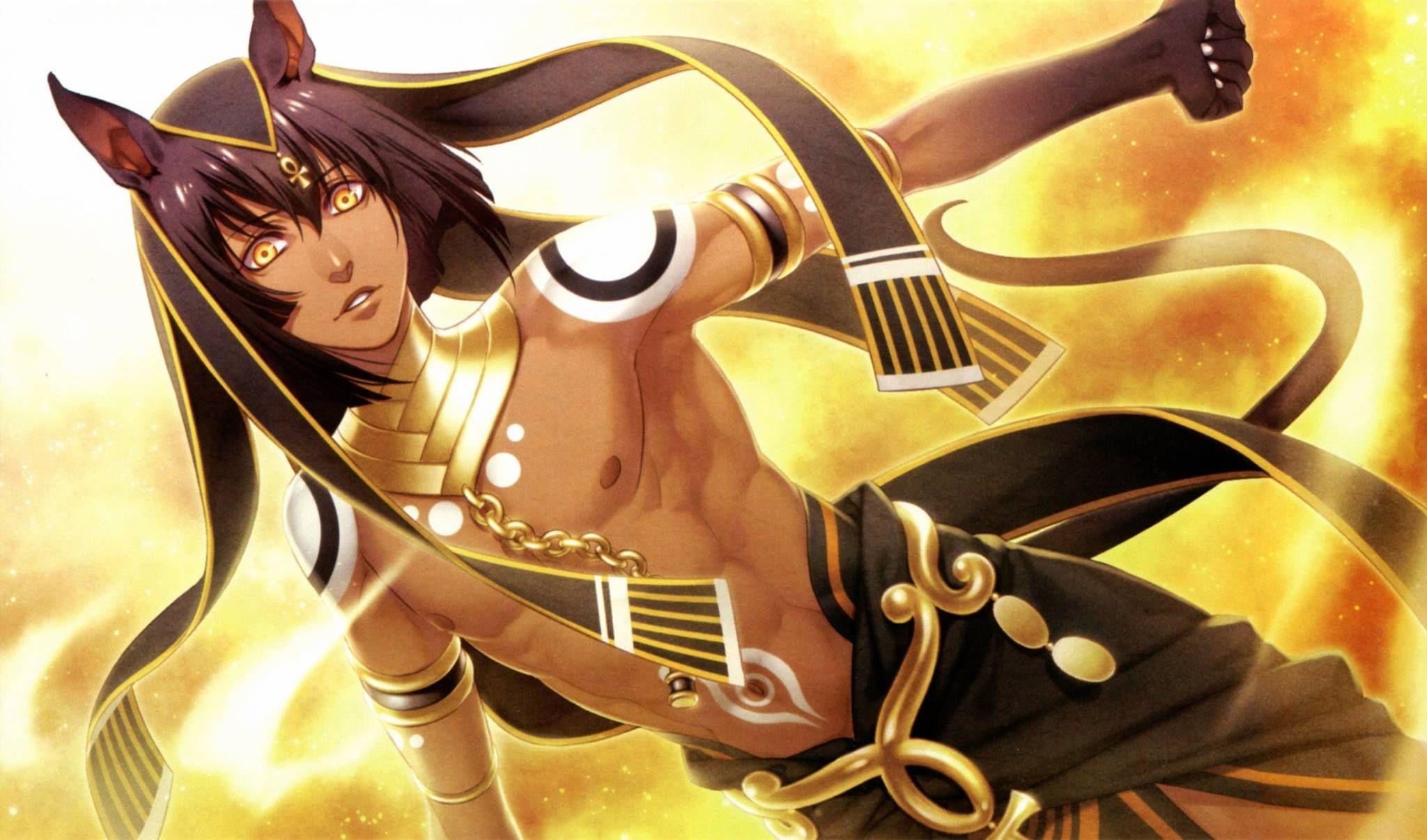 Anubis Ma At Egyptian God Of The Dead Anubis Anime Anime