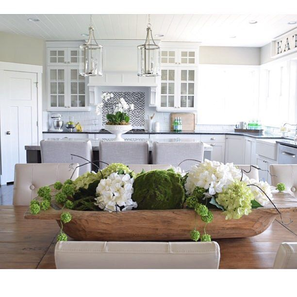 Jen Robison On Instagram With Summer Coming To An End I M Looking Forward To Changing Th Kitchen Table Decor Dining Room Centerpiece Dining Room Table Decor