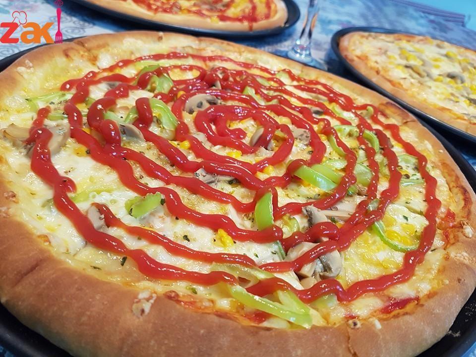عجينة البيتزا خفيفة واسفنجية زاكي Cooking Food Sweet Pastries
