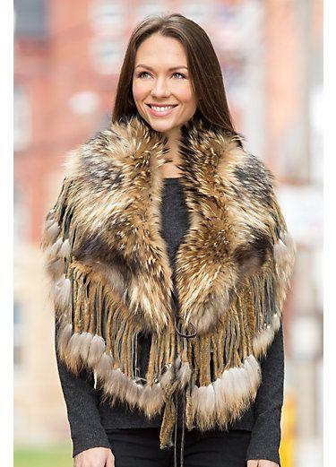Women's Fur Coats #scarvesamp;shawls