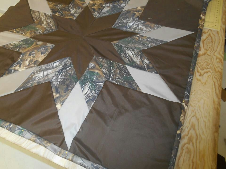 Camo Star Quilt Quilt Designs Ideas And Stuff