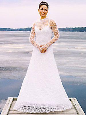 Needful Yarns Crochet Wedding Gown Pattern 194 At Dream Weaver LLC