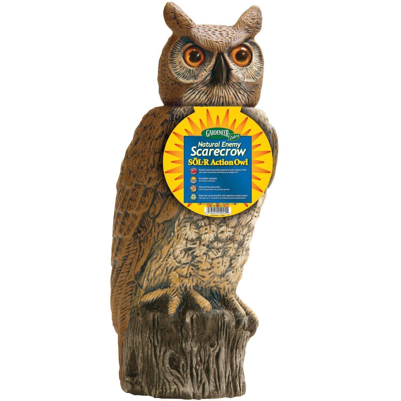 Dalen SRHO 4 Garden Defense Solar Action Owl 18
