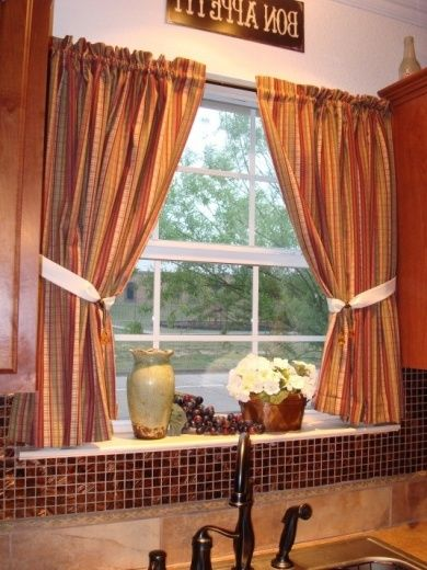 Glamours Tuscan Kitchen Curtains Tuscan Kitchen Curtains For