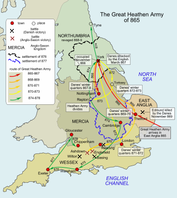 Scandinavian York Wikipedia The Free Encyclopedia Anglo Saxon History Alfred The Great Saxon History