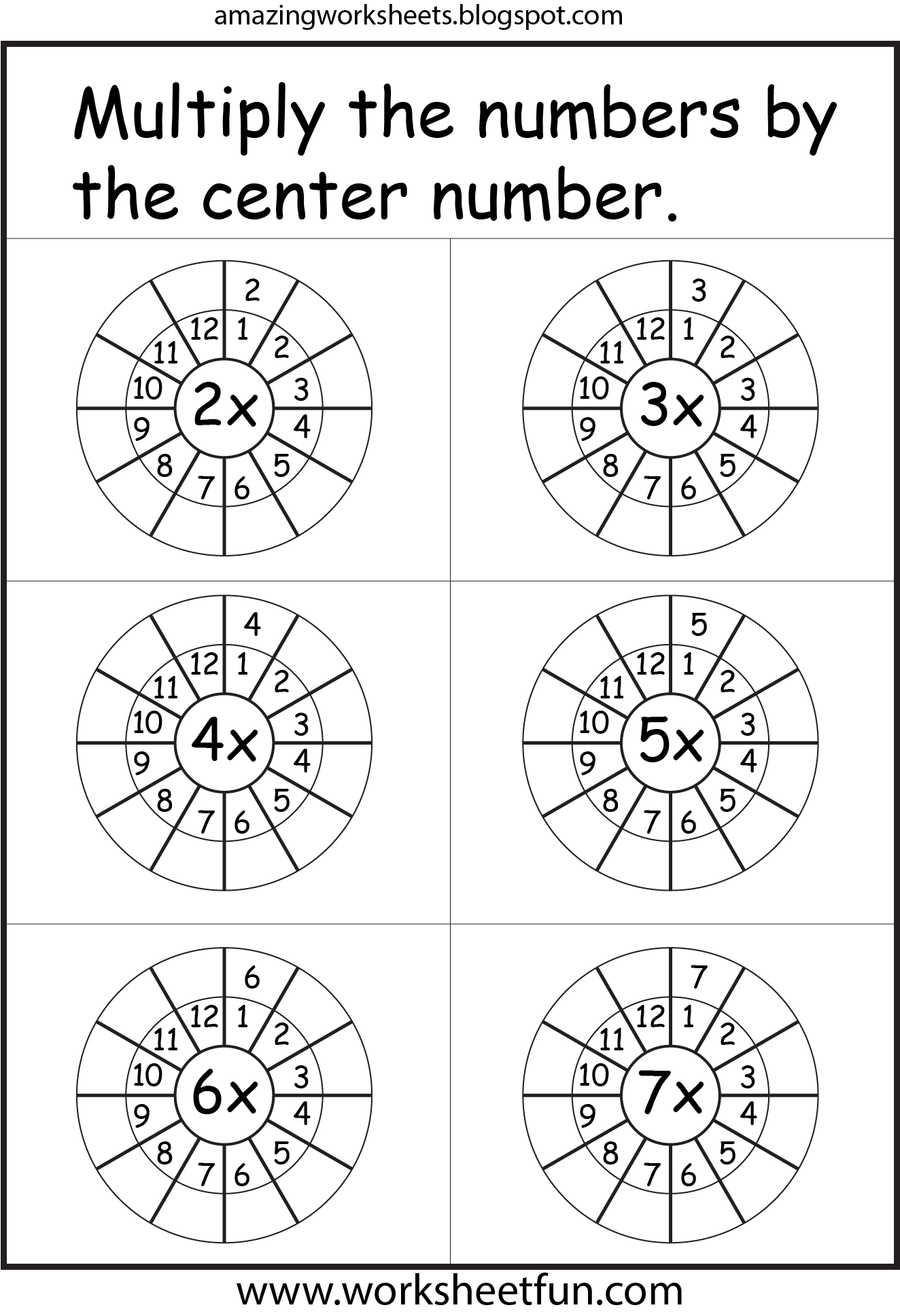 Multiplication Worksheets David Pinterest Multiplication