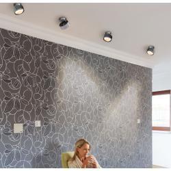 Photo of Puk Maxx Move Led Wand- und Deckenleuchte Glas nickel matt Top LightTop Light