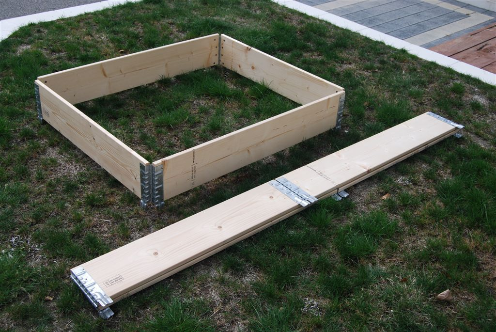 Raised Garden Beds modular stackable planter boxes