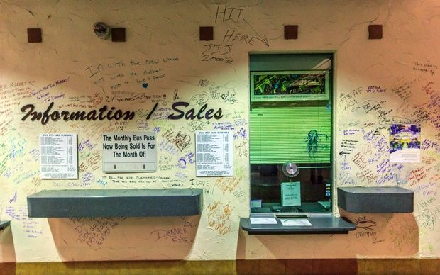 A Heartwarming Sendoff for Denver's Market Street Station—In Graffiti | CityLab
