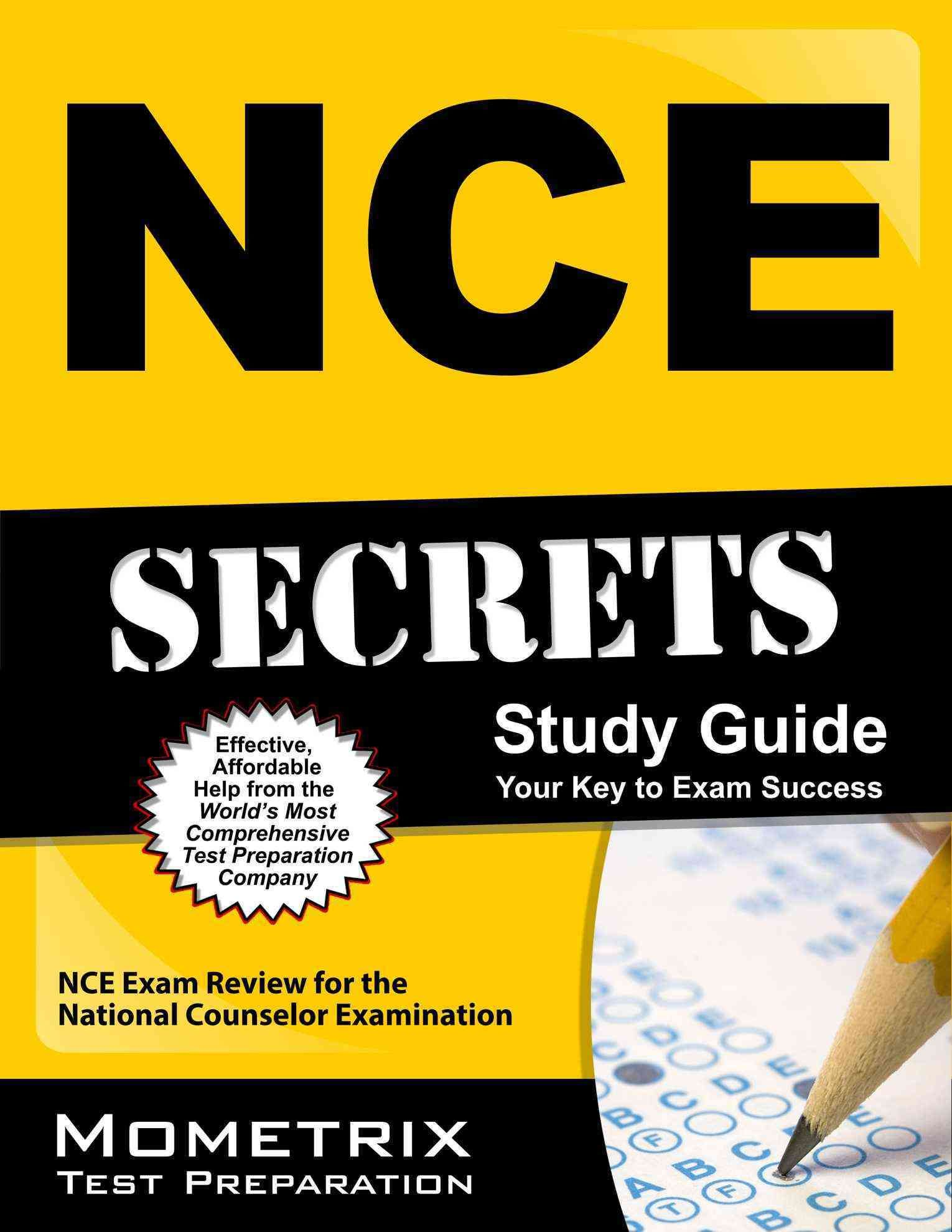 NCE Secrets Study Guide: NCE Exam Review for the National Counselor  Examination