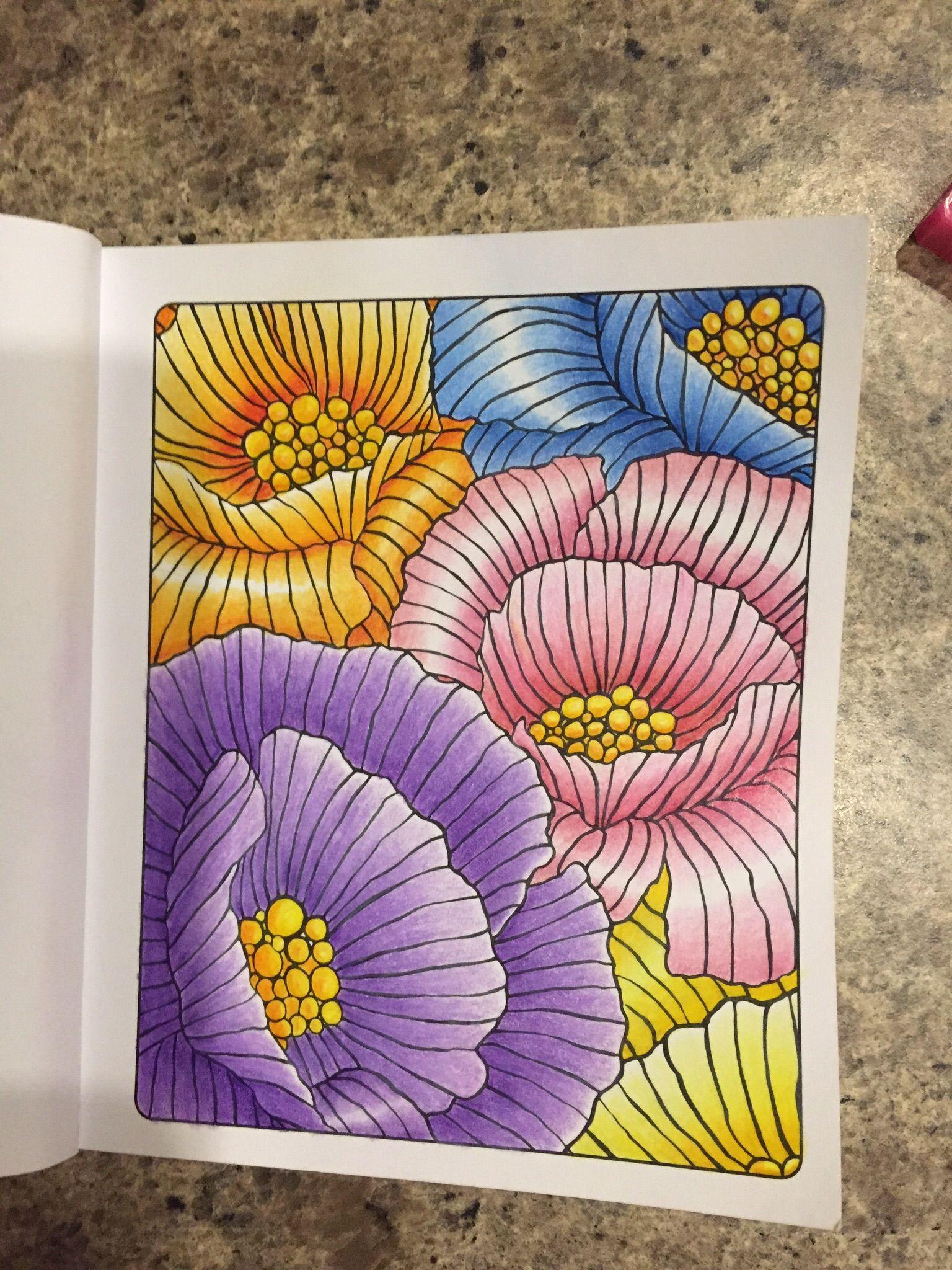 4a46027e91 Adult colouring the little book of calm colouring art ideas jpg 1536x2048 Little  book pencil