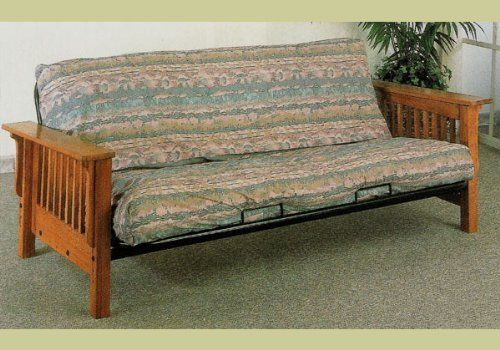 Solid Oak Wooden Futon Day Bed Frame Wood Daybed By Coaster Home Furnishings 231 97 And Metalmetal