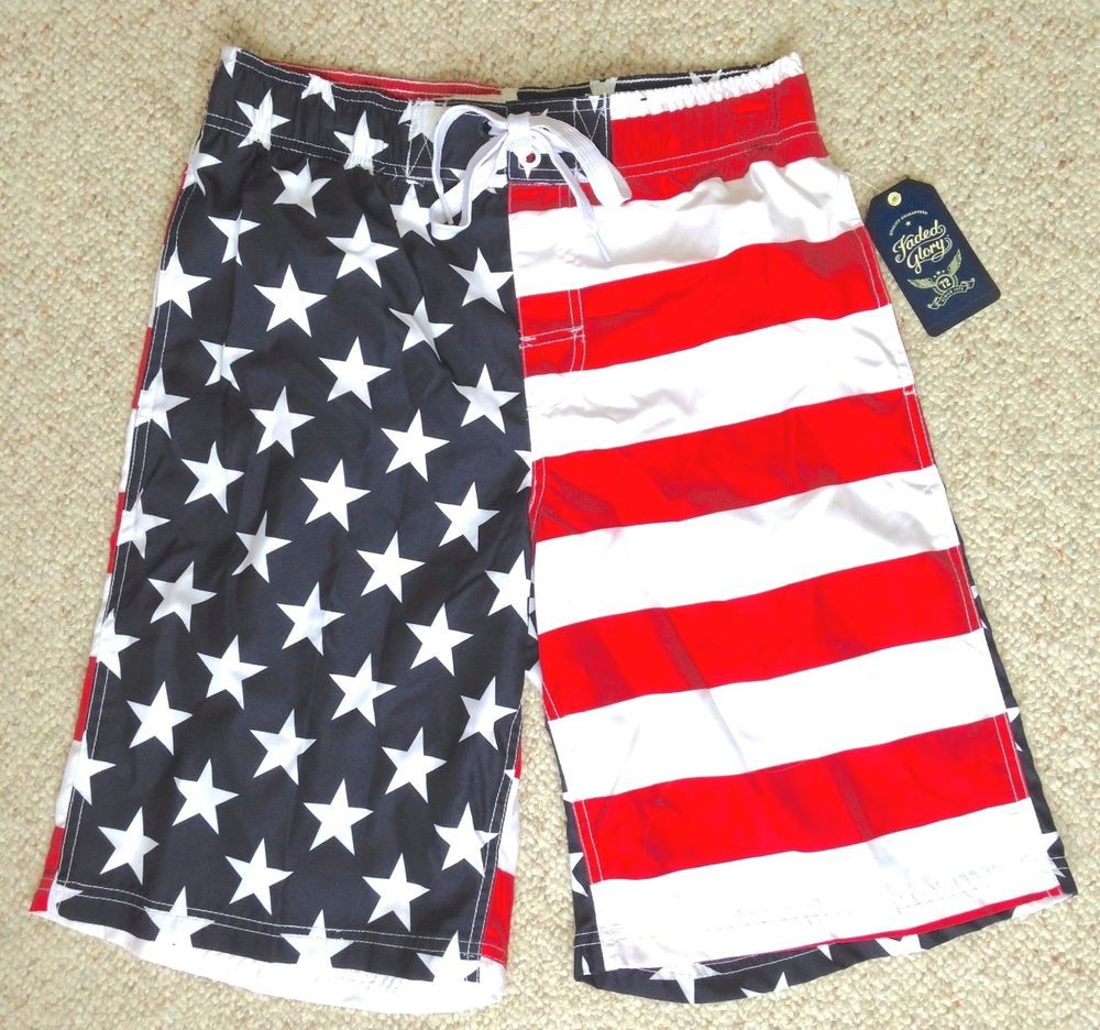 American Flag Ice Hockey Mens Boardshorts Printing Beachwear