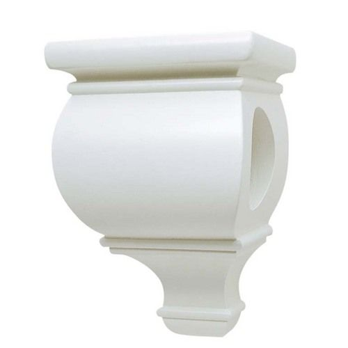 Zoomed Allen Roth 2 Pack White Sconces Could Put A Shelf On Top Of A Pair Of These Decorative Wall Brackets White Wood Sconces