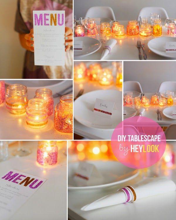 Como decorar frascos de vidrio diy frasco de vidrio - Como poner fibra de vidrio ...
