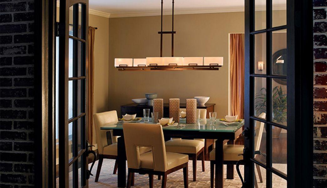 Rectangular Chandelier for Dining Room best theme dining room light ...