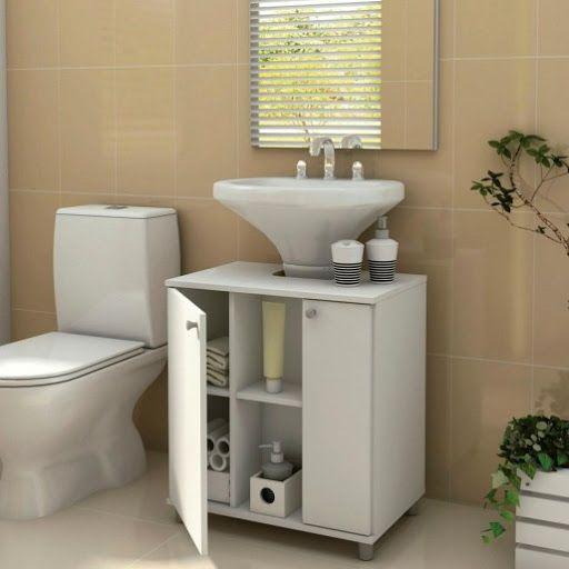 Gabinete c/ porta para banheiro