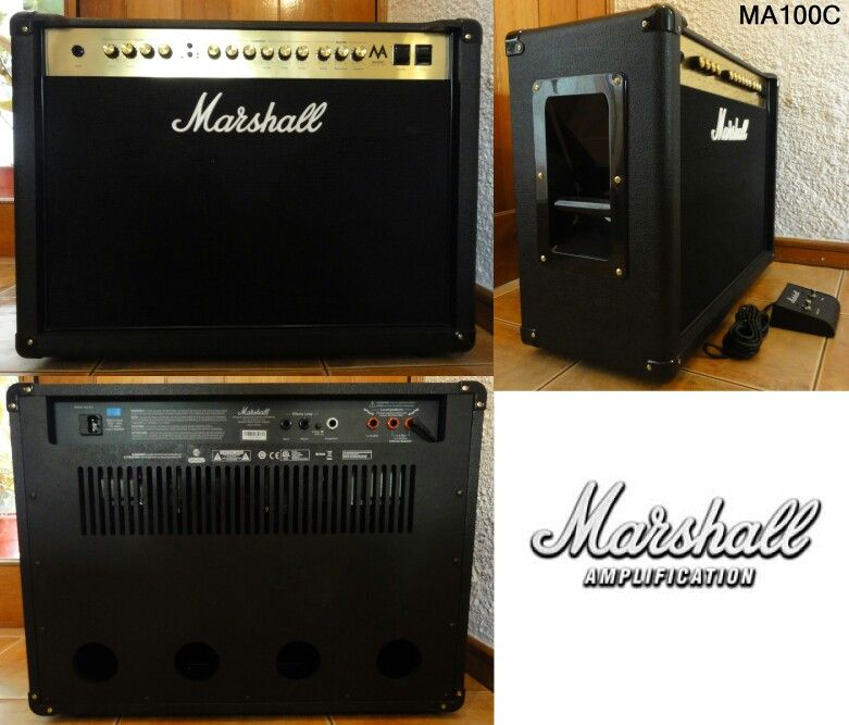 For those of you that want to show your neighbours just how hard you can rock out, you want this Marshall MA100C All Valve Amp! Going for just R5,775! Let us know if you want to give it a jam