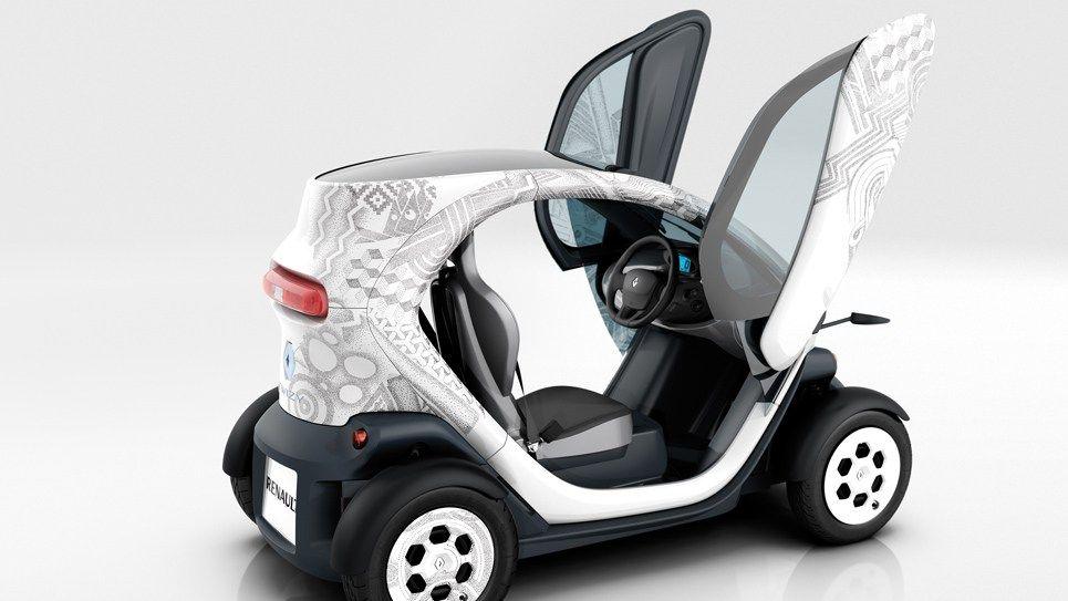 Triton 1000 2 Seats Hybrid Car Renault Renault Electric Car