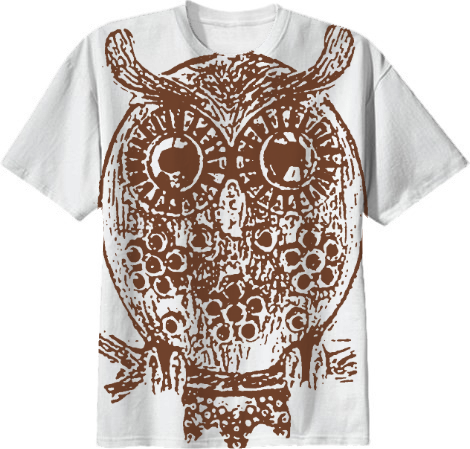 Cute Owl All Over T Shirt from Print All Over Me