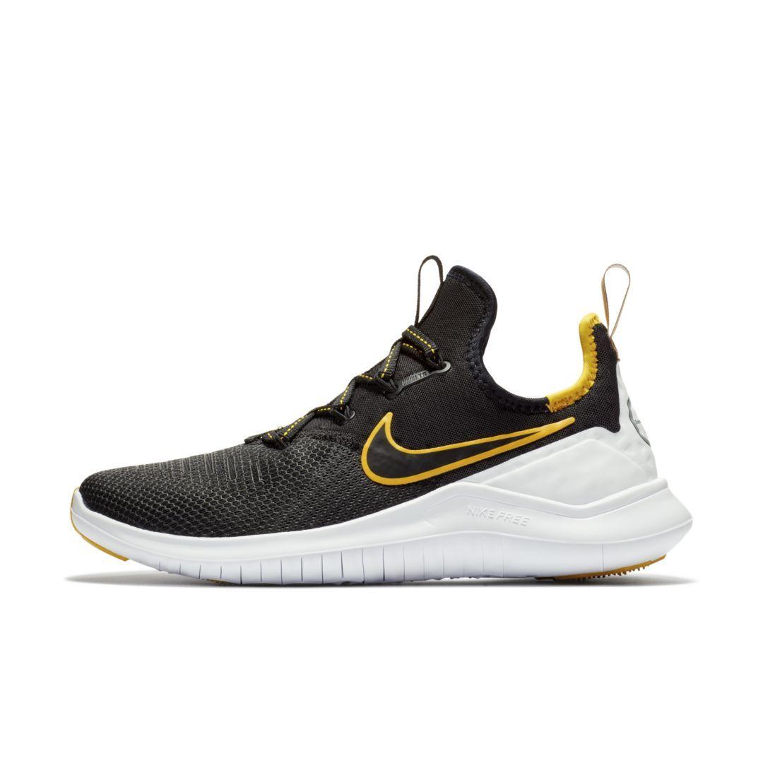 Nike Free TR 8 (NFL Steelers) Women s Gym Gameday Shoe Size 6.5 (Black) 12811f79280