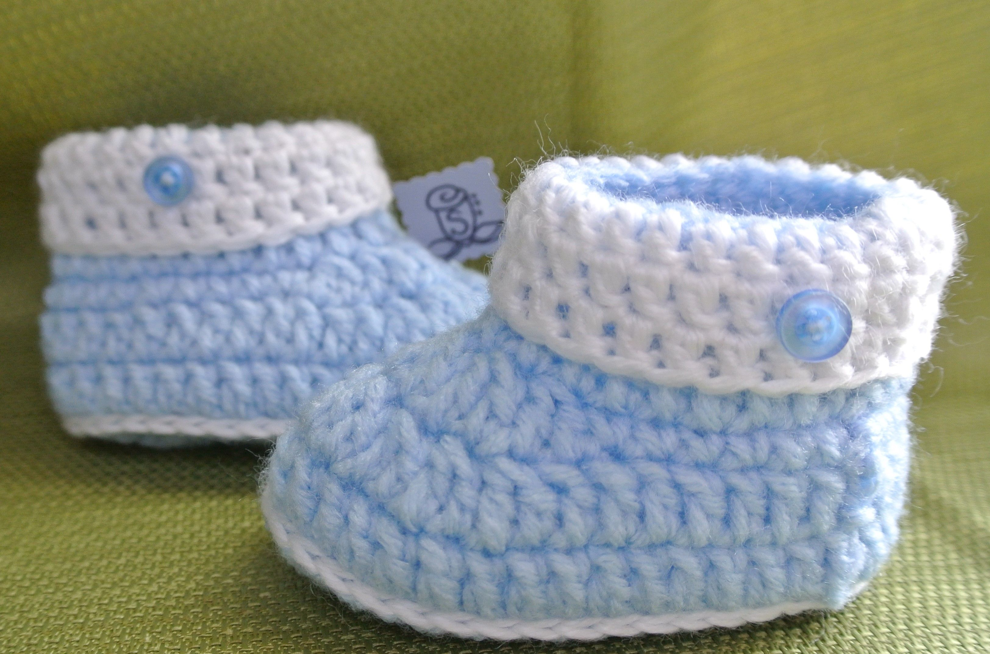 Crochet Baby Shoes.. Hand Made By Me